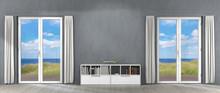 3D Rendering Of Panoramic Home...