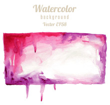 Watercolor Rectangle Spot In G...