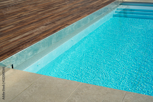 Fototapeta Dettaglio di piscina obraz