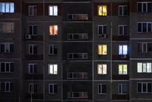 Night View Of Exterior Apartme...