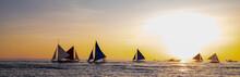 Paraw Sailing At Boracay Islan...