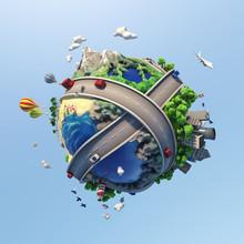 Concept World Showing Diversit...