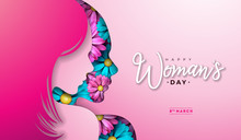 8 March. Womens Day Greeting C...