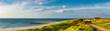 Leinwandbild Motiv Küstenlandschaft bei Ferring, Dänemark