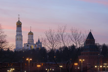 Kremlin Tower And Ivan The Gre...