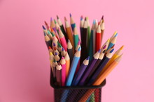Colored Wooden Pencils To Draw