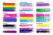 Grunge LGBT Pride Flag Collect...