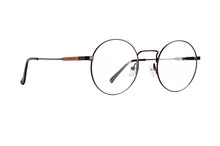 The Eyeglasses In A Round Meta...