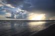 ekspresyjne niebo i morze w pochmurny dzień