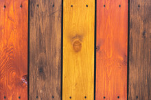 Fence From Multicolored Painte...
