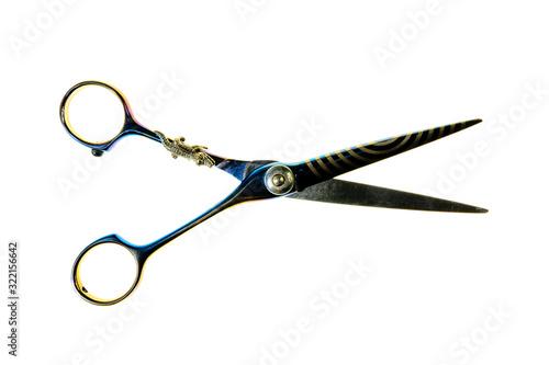 Fryzjerskie narzędzia, nożyczki i grzebienie