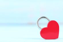 Valentine Heart Shaped Padlock...