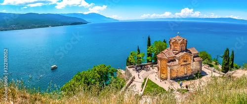 Ohridsee und Sveti Jovan Wallpaper Mural