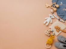 Newborn Baby Wooden Toys, Clot...