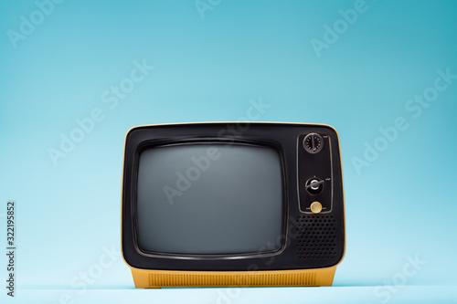 Obraz Retro classic old vintage tv - fototapety do salonu