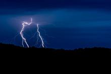 Countryside Lightening Strike