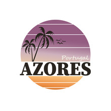 Vector Illustration Of Azores ...