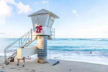 A Lifeguard Station At Waikiki...