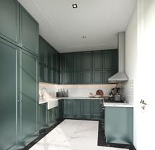 Stylish Fully Kitchen In Moder...