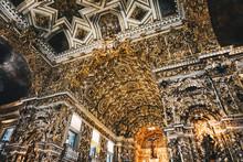 Gold Interior Of São Francisc...