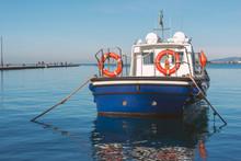 Fishing Boat Near Pier