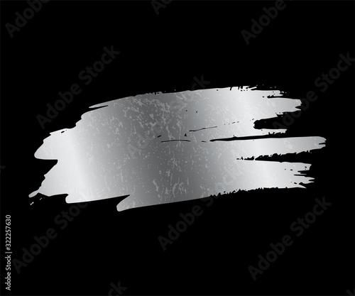 Fényképezés Silver paint smear stain