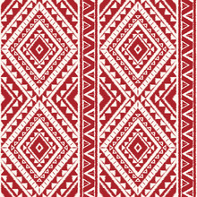 Peru Ikat Tribal Pattern Vecto...