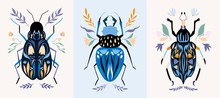 Insect Cards/poster/banner Set...