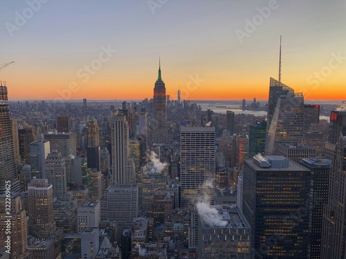 Empire State golden hour