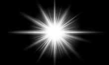 Bright Sun Flare. Bright Glow ...