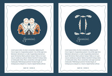 Two Astrological Backgrounds W...