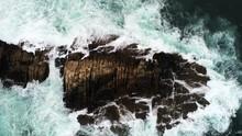 Sea Waves Crashing On Isla Pan...