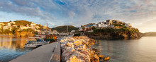 Panoramic View Of Harbour With...