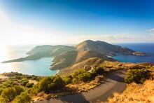 Greek Coastline On Peloponnese, Mani Peninsula