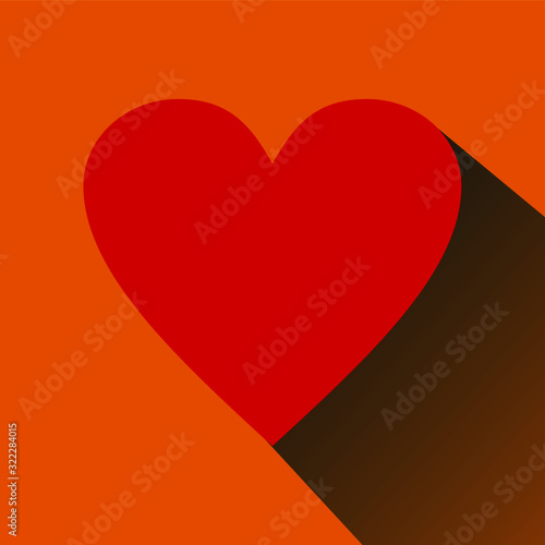 Fototapeta rosso e arancio