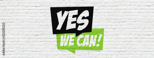 Fotografia Yes we can