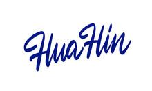 Hua Hin, Thailand. Vector Illu...