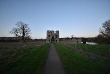 The Inner Gatehouse Of Baconsthorpe Castle, In Norfolk, England, UK.