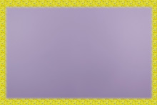 Background. Texture. Lilac Background With A Yellow Frame.