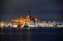 International Cargo Ship With ...
