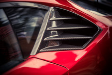 Air Vents Of A Sports Car