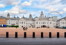Horse Guards Building On White...