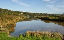 River Arun, Arundel, Sussex, England