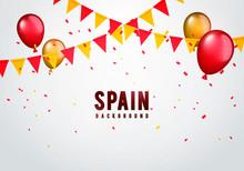 Vector Illustration Spain Garl...