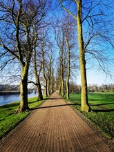 Long Stretch Of Footpath. Aven...
