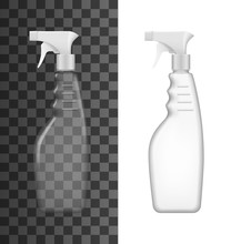 Spray Bottle 3d Mockup Templat...