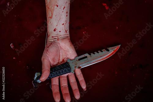 Photo Blood, killing, violence And loss