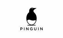Pinguin Logo Vector Design