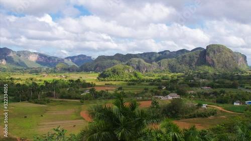 Fotomural Vinales Valley in Pinar del Rio, Cuba