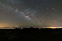 Milky Way With Airglow